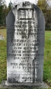 Effie Morrison MacDonald (1810-1887) - Find A Grave Memorial
