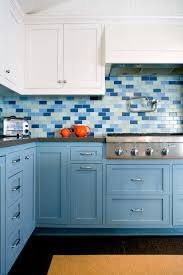 Blue And White Decorative Tiles Ceramic White Tile Backsplash For Small Kitchen Tiles With 48