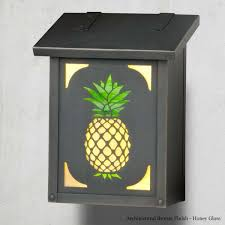 vertical wall mount mailbox. Pineapple Vertical Wall Mount Mailbox W