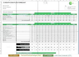 Pro Forma Cash Flow Projections Statement Of Cash Flows Template Best Flow Excel Format