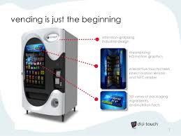 How To Design A Vending Machine Interesting Mondelez Dijitouch Interactive Vending Machines