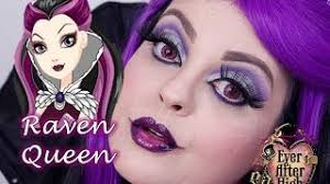 veda 27 ever after high raven queen makeup tutorial maquiagem artÍstica