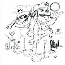 Toad Mario Coloring Pages Artigianelliinfo