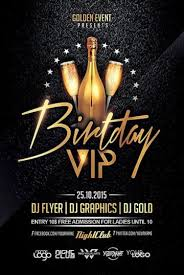 Download Birthday Flyer Templates For Photoshop On Ffflyer Com