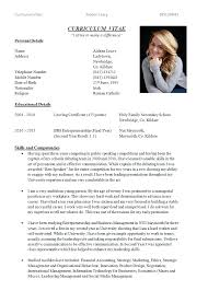 About Me Resume Resume For Study