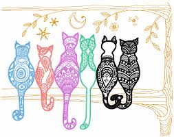 Brother Free Embroidery Designs Usa Rainbow Cats Free Embroidery Design Animals Free Machine