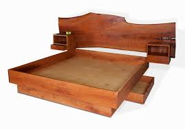 platform bed with built in nightstands. Delighful Nightstands Just Added To The Portfolio The Buchi Bed After Clients For Whom It  Was Designed And Built Also Known As Cherry Platform Bed To With Built In Nightstands L