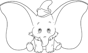 Small Picture Elephant coloring pages dumbo the elephant ColoringStar