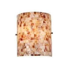 seashell bathroom lighting fixtures. sea shell mosaic and glass 1-light wall sconce seashell bathroom lighting fixtures e
