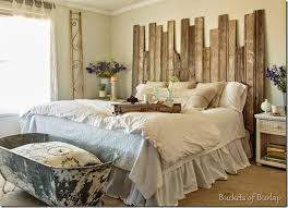 Perfect Farmhouse Bedroom With Rustic Wood Headboard