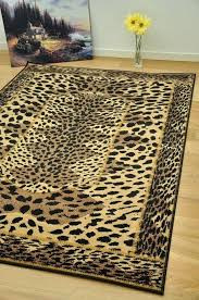 leopard print rug leopard print area rugs small extra large animal print soft mats