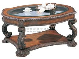 traditional glass coffee tables natural coffee table