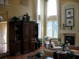 Two Story Living Room Curtains Diy By Design Family Room Ideas