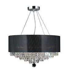 chandeliers black drum shade chandelier black chandelier style lamp shade worldwide lighting gatsby collection 8