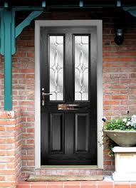 modern front door handles. Classy Front Door With Black Tone Feat Stained Textured Glass Materials And Fancy Gold Handles Modern T