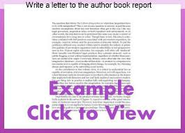 how to write a book report write a letter to the author book report homework service