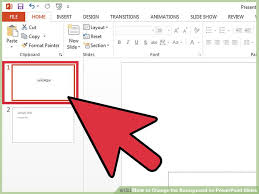 How To Change The Background On Powerpoint Slides 15 Steps