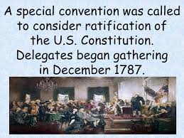 「1787 philadelphia constitutional conference began with the seven states representatives gathered」の画像検索結果