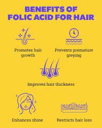 folic acid for hair growth benefits