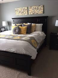 ... Best 25 Gray Yellow Bedrooms Ideas On Pinterest Chevron Bedroom  Impressive And ...