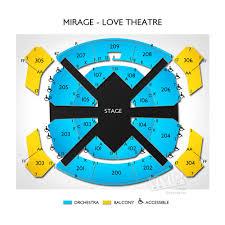 27 Explanatory Beatles Love Show Las Vegas Seating Chart
