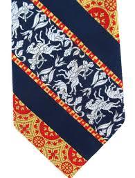 Habands Vintage Necktie Greek Mythology Man Horse Arrow Horned