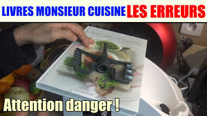 Livres De Recettes Monsieur Cuisine Les Erreurs Silvercrest Lidl