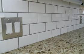 white subway tile white subway tile white subway tile dark grout bathroom
