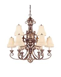 1 5131 9 128 savoy house lighting chambord 9 light chandelier in oxidized silver finish