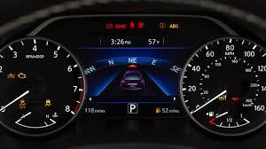 Nissan Altima Warning Lights 2017 2018 Nissan Maxima Warning And Indicator Lights