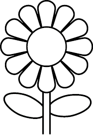 Small Picture Flower Coloring Pages For Preschoolers Flower Coloring Page