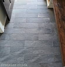 Slate Floor Tiles For Kitchen Freckles Chick Mini Mudroom Tiled Benchedstyle Selections 6 In