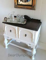 painting furniture white9 best White server images on Pinterest  Painted furniture