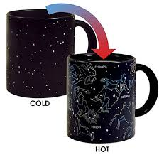 4 these heat changing constellation mug