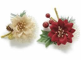 Künstliche Weihnachts Weihnachtsstern Mit Kleber 580441