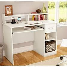 Teenage desk furniture Faux Fur South Shore Study Table Desk Furniture White Amazoncom Teen Desks Amazoncom