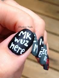 ehmkay nails: Falling for Nail Art: Back to School