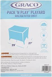 Amazon.com : Graco Pack 'n Play Quilted Playard Sheet, Cream ... & Amazon.com : Graco Pack 'n Play Quilted Playard Sheet, Cream : Pack And Play  Sheets Graco : Baby Adamdwight.com