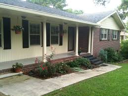 exterior ranch house color schemes 50 s ranch home before being updated with a fresh coat