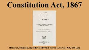 「The British North America Act of 1867」の画像検索結果