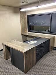 100 ideas custom office desks on vouum com made sydney desk from reclaimed flooring