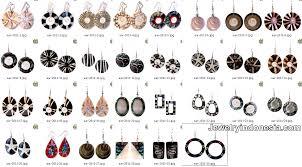 fashion jewelry earrings bali indonesia