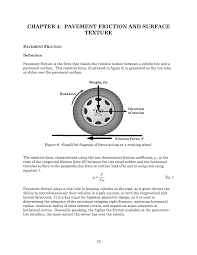 4 Pavement Friction And Surface Texture Guide For