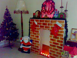 diy fake fireplace ideas for fireplace for the holidays you fake with faux fire