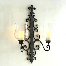 bronze candle sconce candle holder wall sconces medium size of mirrored candle sconces for wall wall