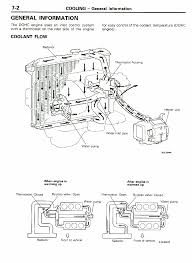 stealth 316 1991 stealth technical information manual general information coolant flow 7 2