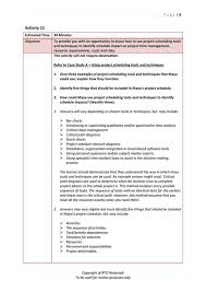 Personal Management Workbook Answers 20 Personnel