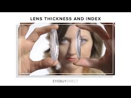 High Index Lenses Our Lens Thickness Chart Eyebuydirect