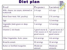 diet plan after birth nutrition during pregnancy