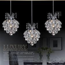 small modern pendant chandelier homeofficedekoration moderne krystal pendel lysekrone